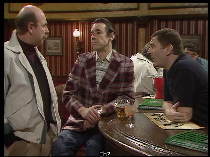 Five years ago today, Roger Lloyd-Pack sadly passed away.   Here is Trigger with the best pub story ever told.   What a legend! Absolute comedy gold