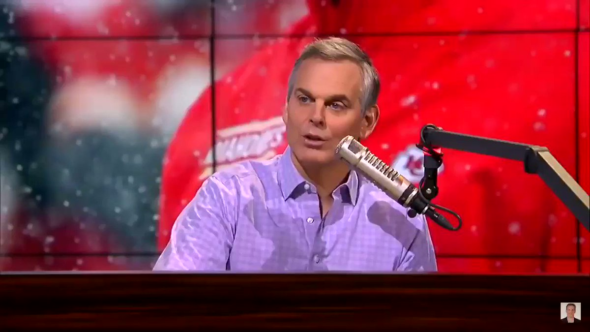 Chiefs used one of Colin Cowherd's bad takes to pump up the crowd