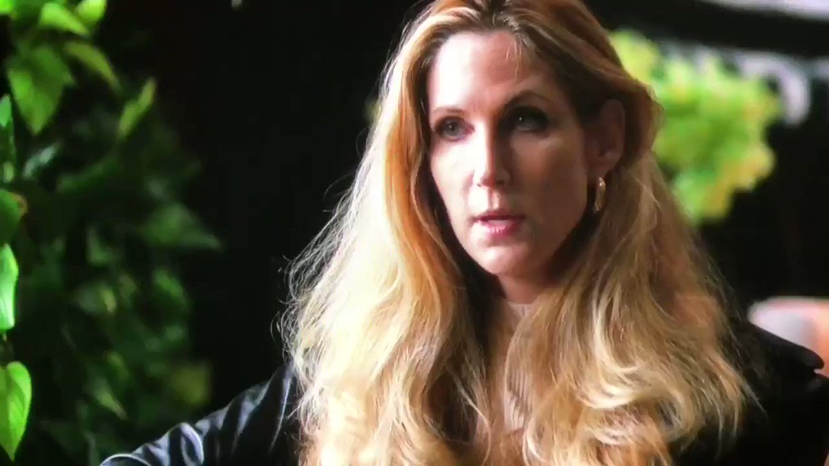 """I've been advising the president whether on Twitter, in columns, or in private conversations you're not allowed to know about, since Election Day.""   Here's Awful Ann Coulter telling @vicenews tonight she does in fact have the president's ear on immigration."