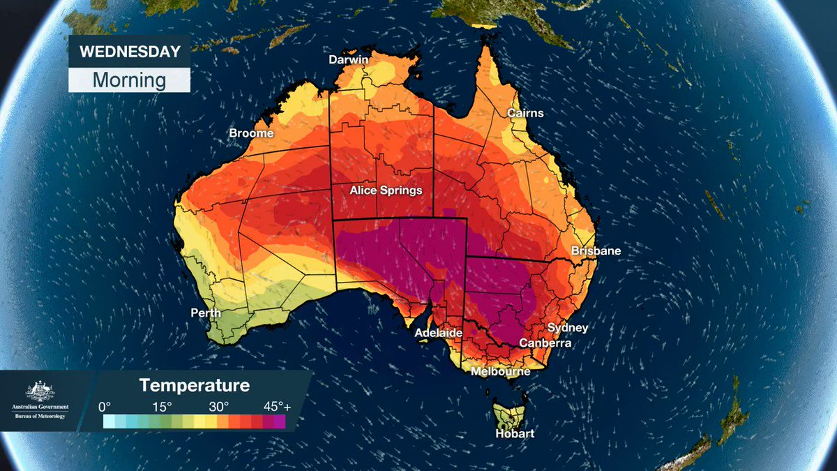 Stay indoors: Warning issued as Australia's heat wave hits record highs