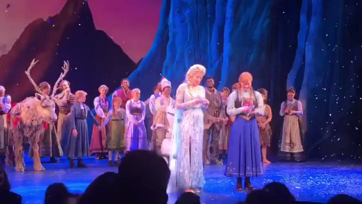 Frozen the Musical's photo on carol channing