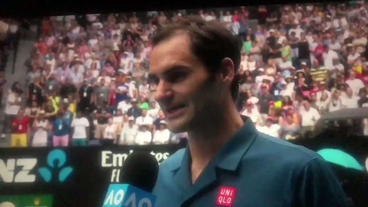 Scarlett's photo on #Federer