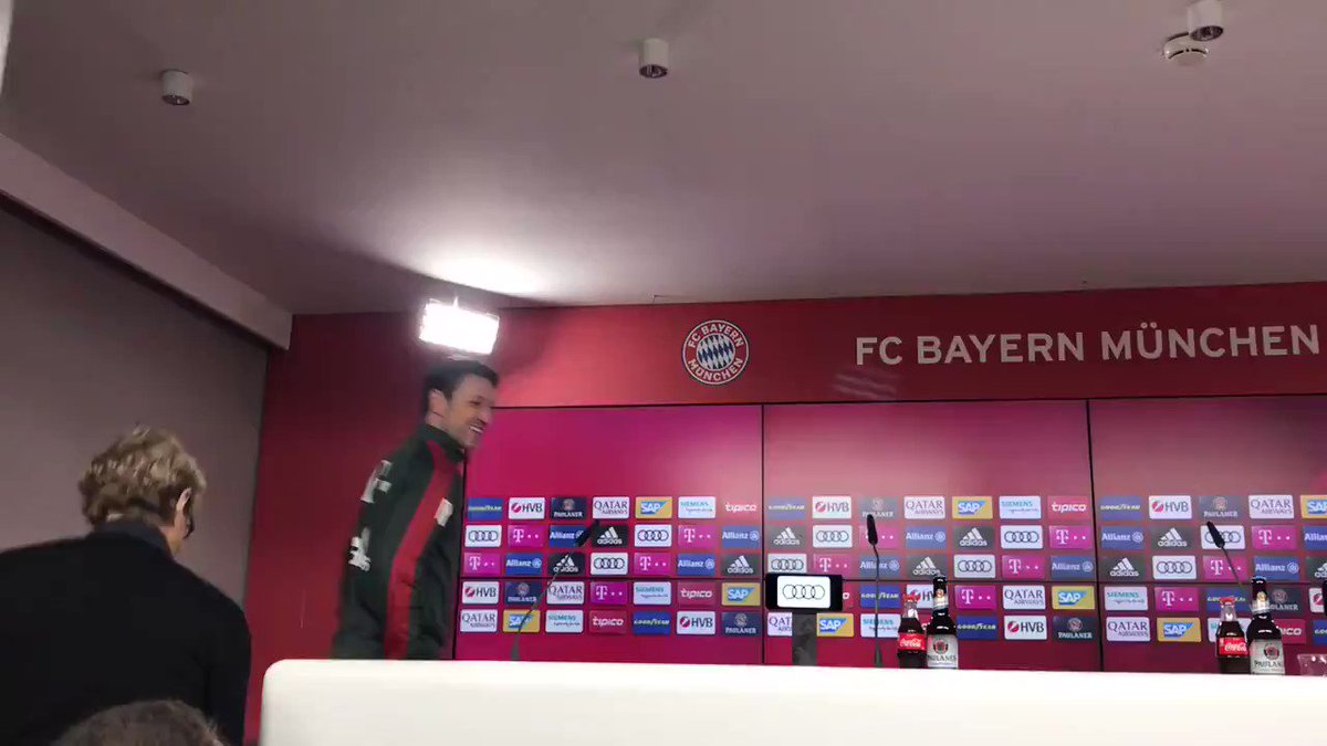 It's that time again 🗣️ Kovac speaks to the press ahead of #TSGFCB ⚽ #FCBayern #MiaSanMia