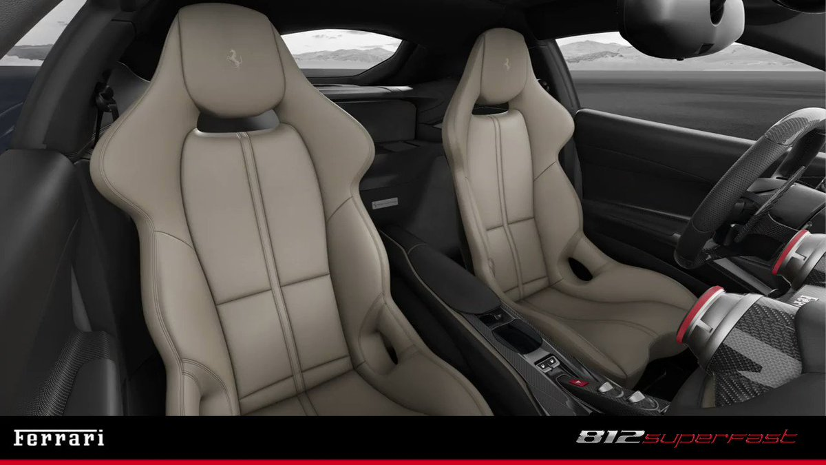 Ferrari On Twitter Monocoque Or Standard Racing Carbon Seats On This Ferrari812superfast Customize Your Dream Ride Down To The Very Last Detail Ferrari Https T Co A1popiyfas Https T Co Eztungwuz6