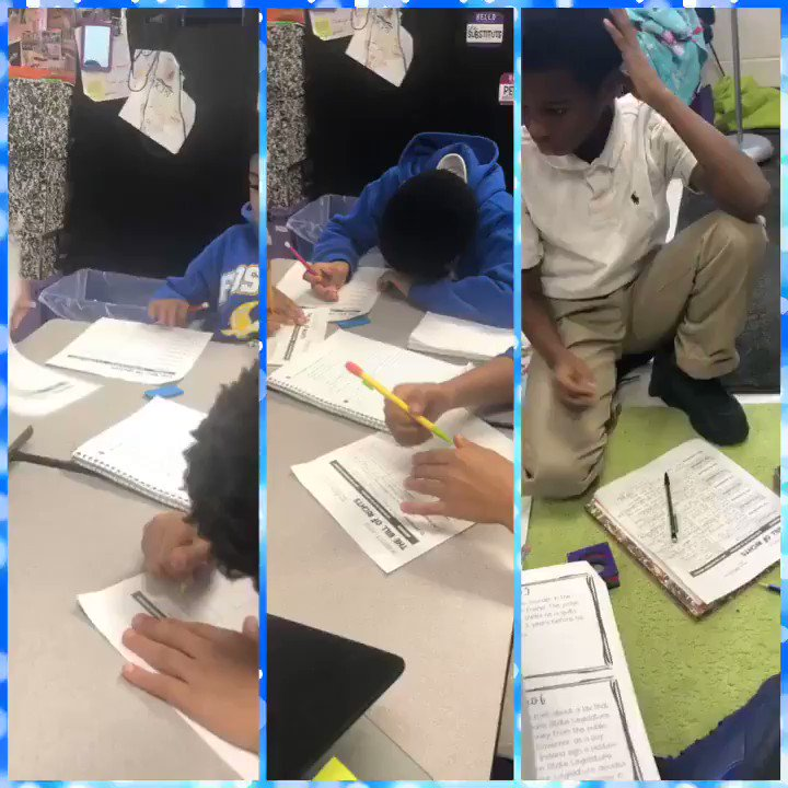 Real students, real content, real engagement @We_Are_Foster! #JCPSBackpack #collaboration