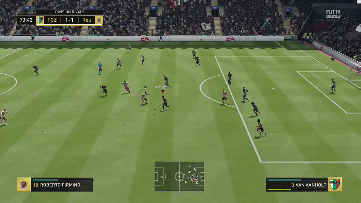 Pass, Pass, Pass...........Goal #FIFA19 #XboxShare