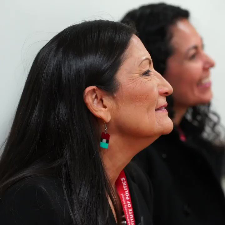 """""""Try not being represented for 200 years, and then all of a sudden have somebody who looks like you,"""" said Deb Haaland, one of the first Native American women in Congress. https://wapo.st/2VXykhx"""