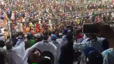 "Thank you Good people of Kogi State.  ""Allah Ya Sassaka Da Alkhairi""  Kogi People You are true Buharist."