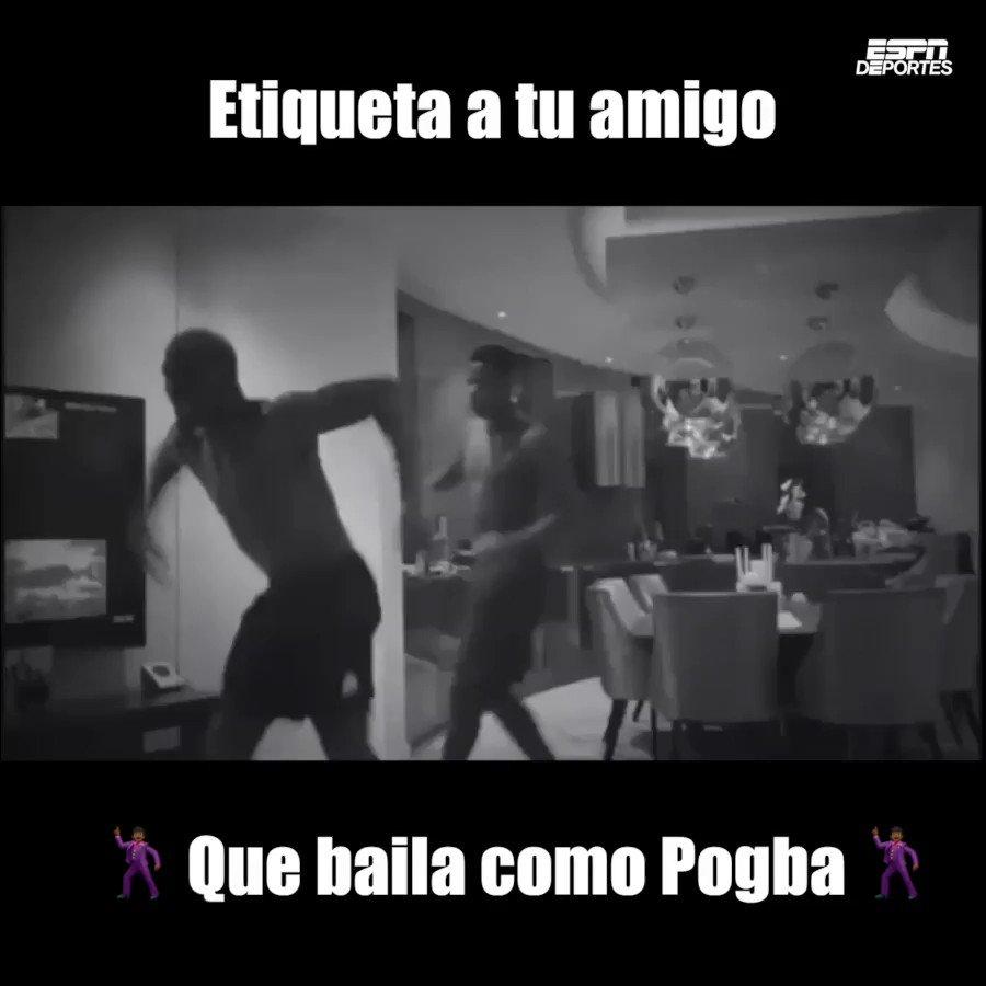 Todos tenemos un amigo que baila como @paulpogba 😂
