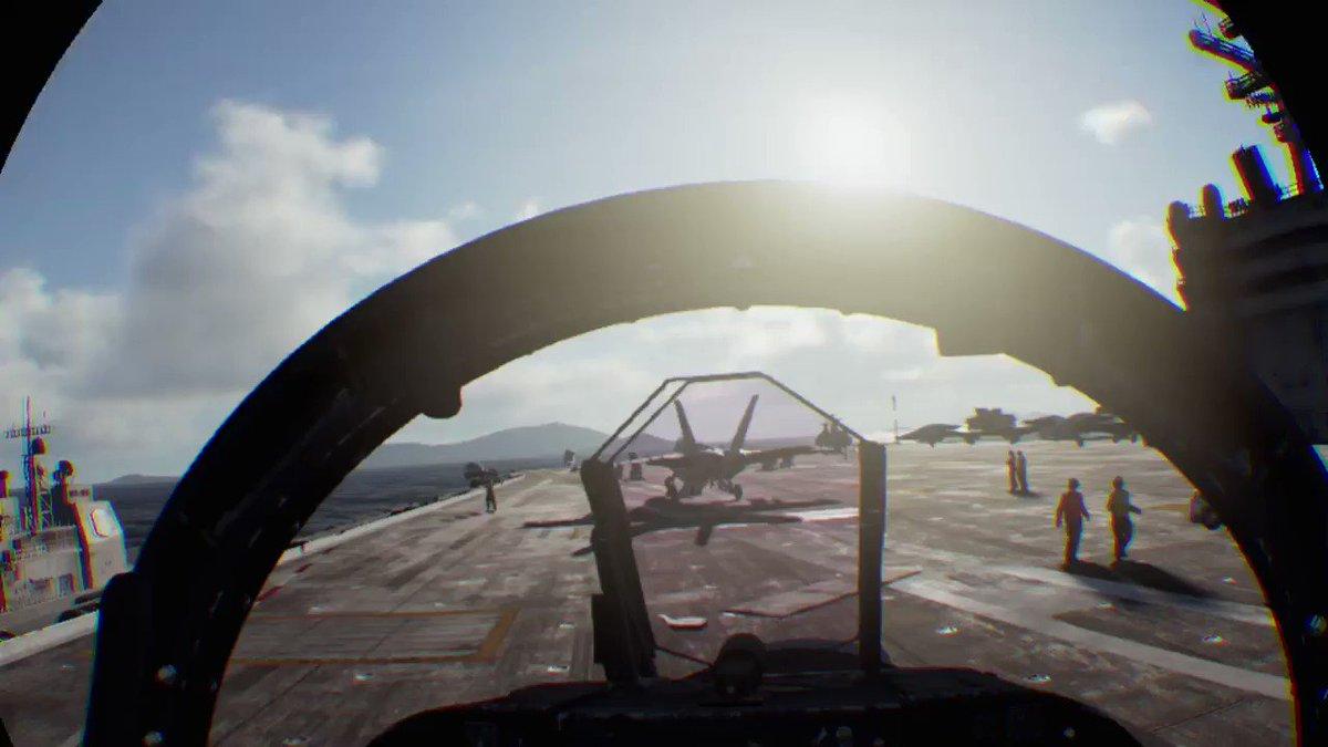 RT @tohirokonno: うわあああ乗ってる!F/A-18Fに乗って空飛んでるう!VRヤバい! #ACE7 #PS4share  https://t.co/fg2pbwbEjs https://t.co/WuWOMpZ2JG