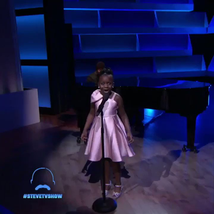 Tomorrow: Is this 10-year-old the next Patti LaBelle? @MsPattiPatti had to come see for herself! Don't miss the big surprise!! #stevetvshow
