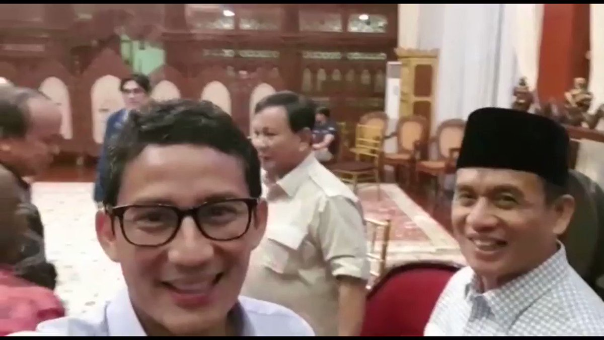 Sandiaga Salahuddin Uno's photo on Pak Prabowo
