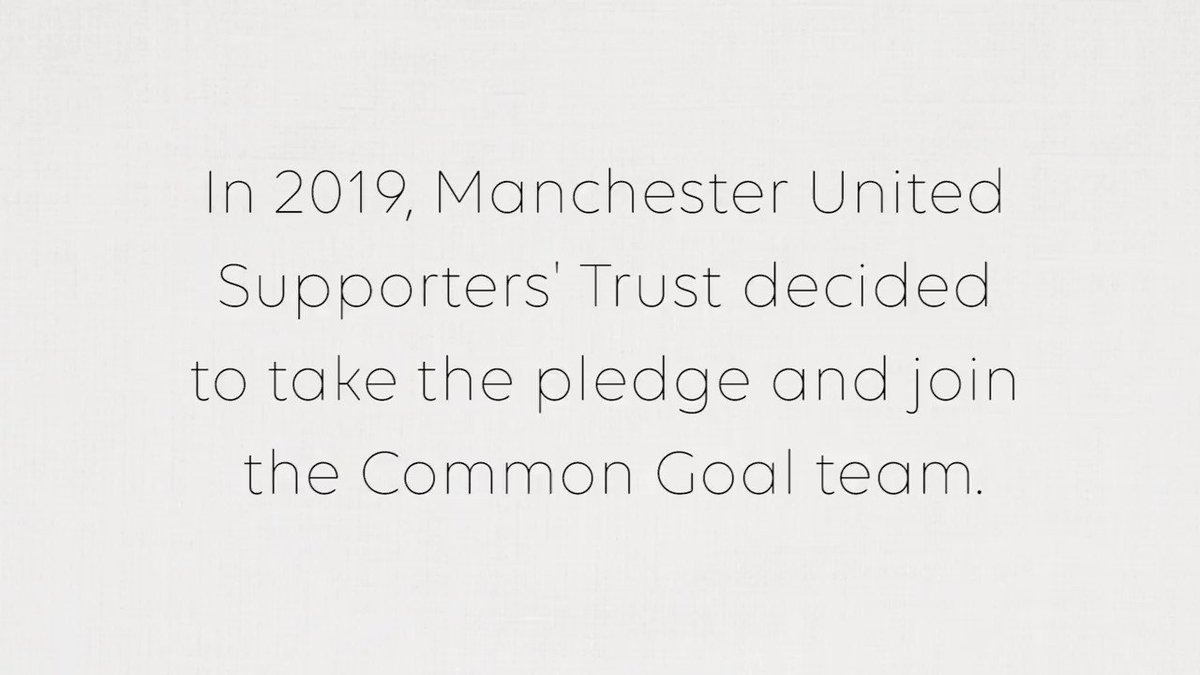 We are very excited to welcome the Manchester United Supporters' Trust (@MU_ST) to the Common Goal team!  A few lucky supporters sat down with @juanmata8 and @Sio_Chamberlain at the @ManUtd training ground to talk Common Goal. Watch the full video here: https://youtu.be/XzvHV1PR4EE