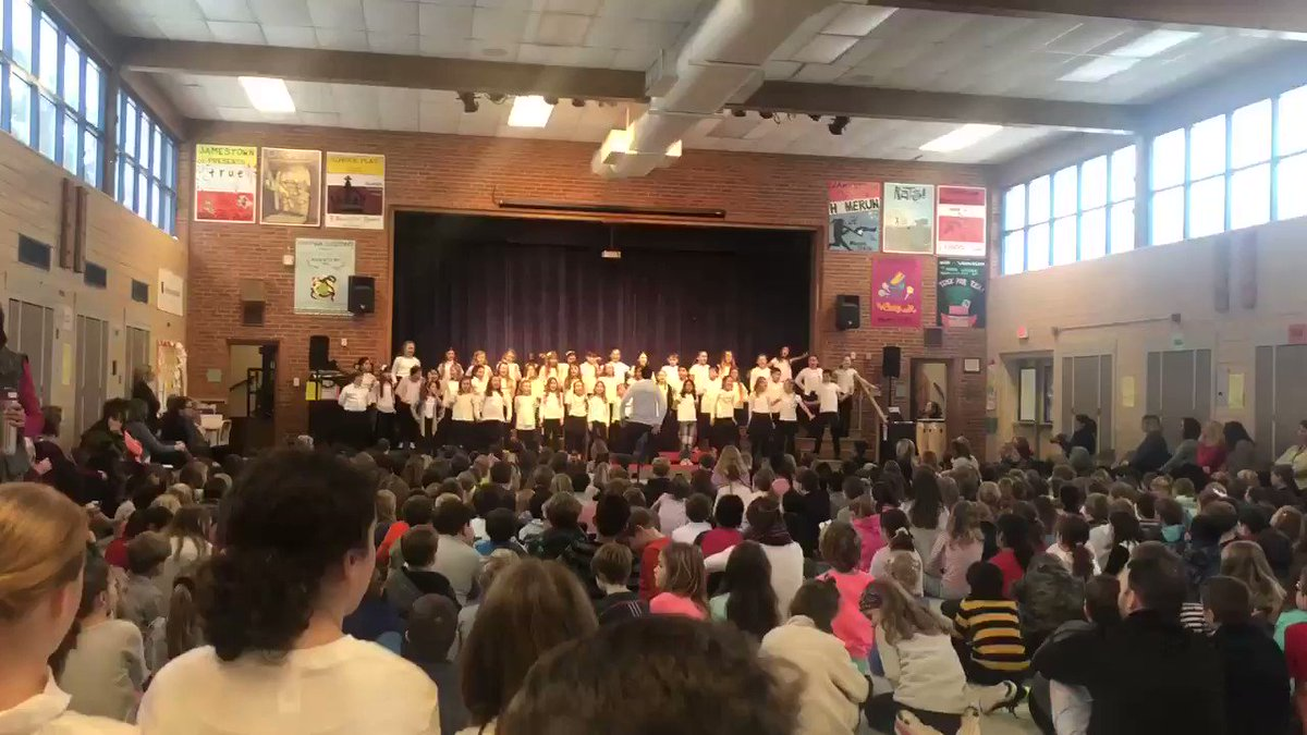 Our Jamestown chorus has our jingling to the beat. Great job Jamestown Chorus.  <a target='_blank' href='http://search.twitter.com/search?q=winterconcert'><a target='_blank' href='https://twitter.com/hashtag/winterconcert?src=hash'>#winterconcert</a></a> <a target='_blank' href='http://twitter.com/JamestownESPTA'>@JamestownESPTA</a>  <a target='_blank' href='http://twitter.com/APSArts'>@APSArts</a> <a target='_blank' href='https://t.co/S5IooS1kfS'>https://t.co/S5IooS1kfS</a>