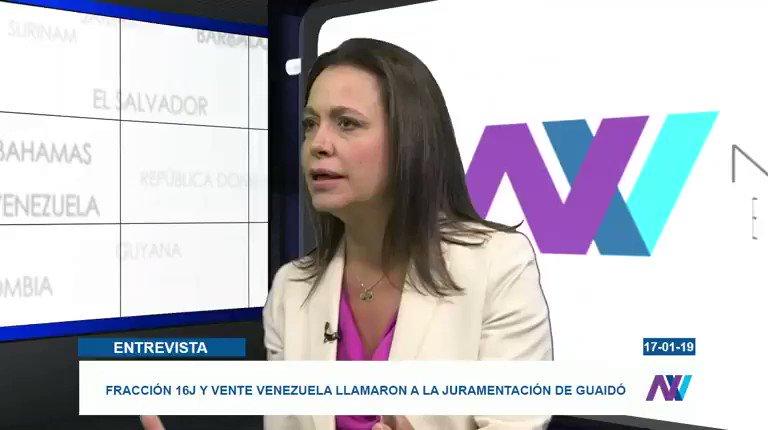 RT @JoseAGraterol: María Corina Machado: No pueden haber 167 presidentes. Es uno, y es Juan Guaidó. https://t.co/RVzaS2iOCI