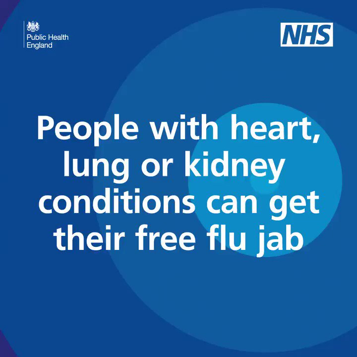 For people who have a long term condition, like heart disease, COPD, diabetes or asthma, getting the flu can be really nasty & take longer to recover from - or even need a spell in hospital. Ask your pharmacist for a free flu jab to help prevent this happening to you @LBRUT