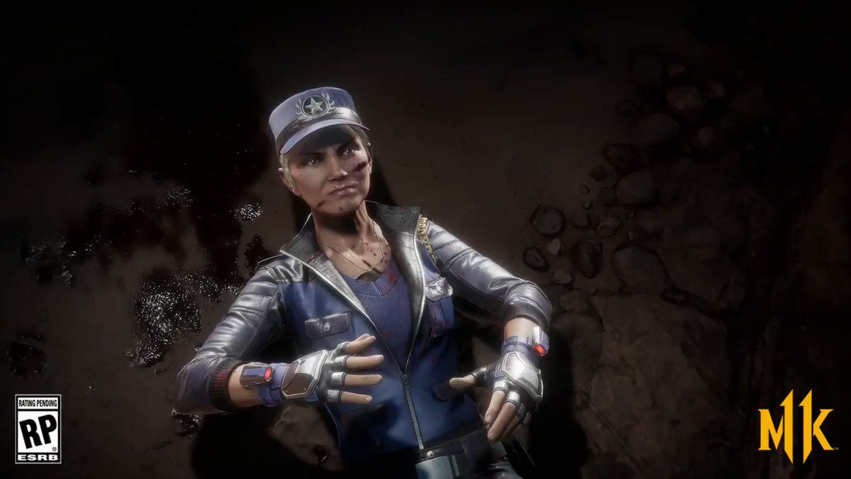Mortal Kombat 11's photo on Sonya Blade
