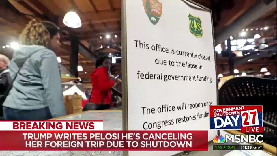 Congressman: Donald Trump Is 'Being A Man-Baby' Over The Shutdown