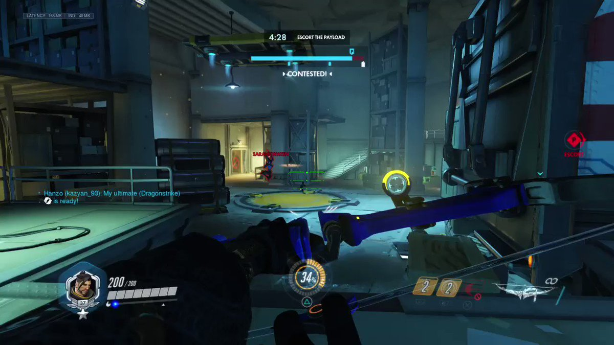 Beeeaaaaa*ch! #Overwatch #OW #Hanzo #Bastian #PS4share  https://store.playstation.com/#!/en-us/tid=CUSA01842_00 …