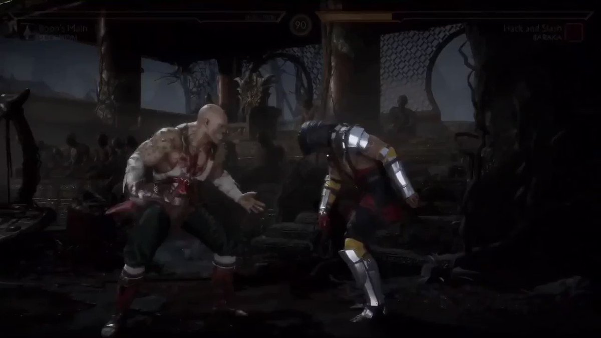 Mortal Kombat 11 looks fucking disgusting 🤯