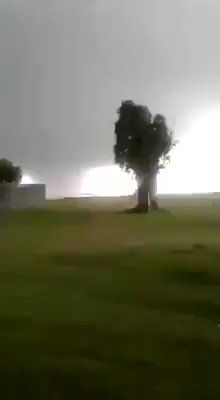 Image for the Tweet beginning: *World Weather* Large tornado reported