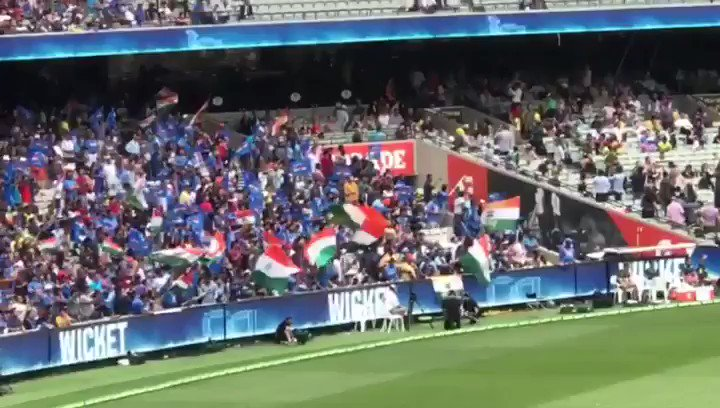 RT @thebharatarmy: #AUSvIND Melbourne or Mumbai? The Bharat Army #HomeAndAway #COTI 🇮🇳 https://t.co/54iemOcmkd