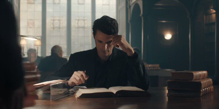 It's just one scen, though you can see all the elements will make you love this show so much. #FlashbackFriday  #adiscoveryofwitches