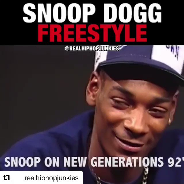 27 years ago. Young snoop dogg https://t.co/Zaa9bL3EJ6