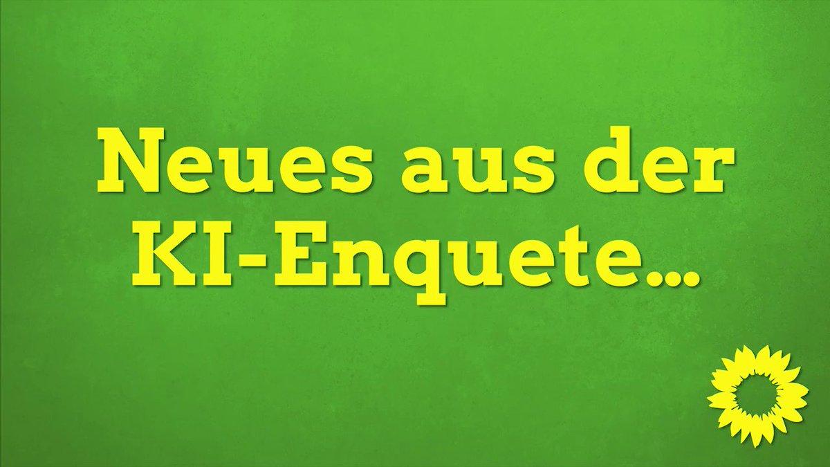 Image for the Tweet beginning: Die #EnqueteKI in den Startlöchern: