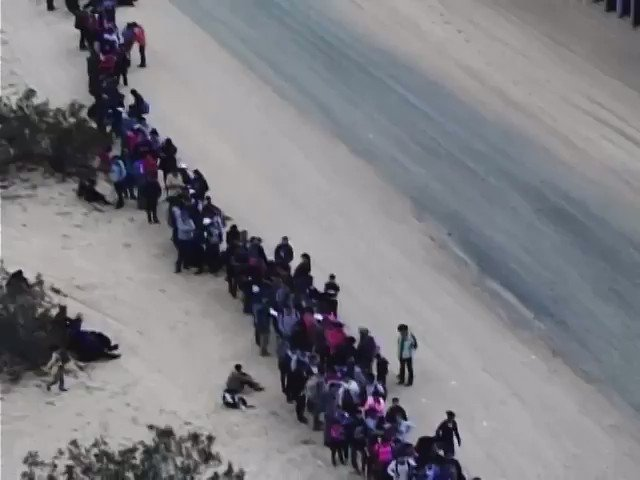 Border Patrol arrests 200 adults, 176 children who dug under border wall in Arizona