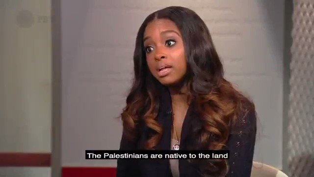 "In an interview, @TamikaDMallory asked if Israel has the right to exist. ""The Palestinians are native to their lands""  And the Jews?  "".Well I'm not Jewish""  But you're not Palestinian either ""I'm speaking about people who are brutally oppressed..."""