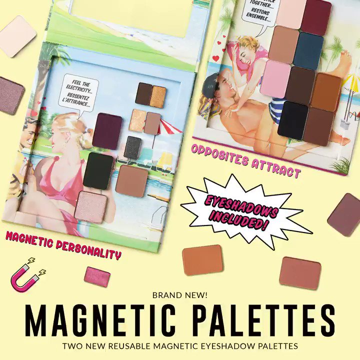 1e2515650d5 A look at our NEW Magnetic Palettes, shadows included! #MagneticPersonality  & #OppositesAttract! DIRECT LINK: https://t.co/GYVI9okWXG… ...