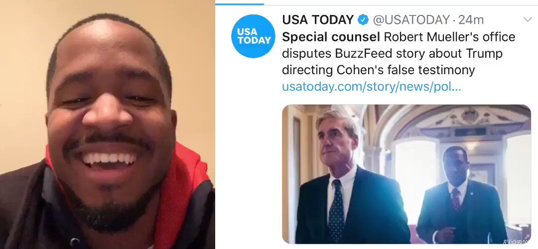 BuzzFeed is fake news just like their cousin CNN  Special counsel Robert Mueller team disputed BuzzFeeds made up story.   So Impeach who? Twitter sleep now   RETWEET if you're laughing with me