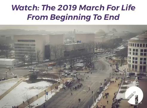 RT @LifeNewsHQ: WOW! Watch this AMAZING time lapse video of the March for Life! #MarchForLife #prolife https://t.co/PcQLnv1LWv