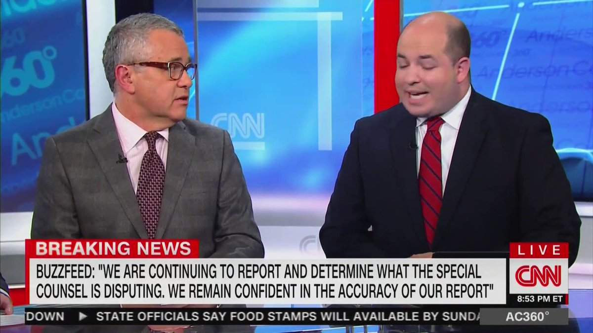"""Brian Stelter pleading with the American People: """"Don't fall for what these politicians out there want you to do. They want you to think we are all crooked, we're not.""""   Sounds like Nixon"""