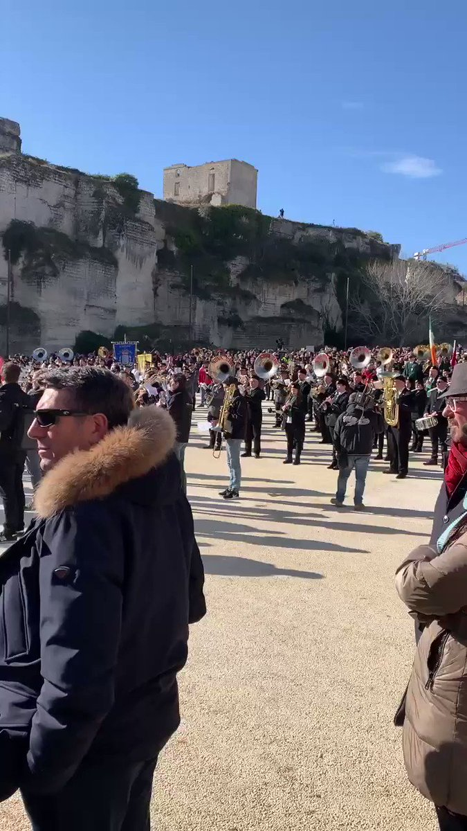 Matera, Italy is the European Capital of Culture for 2019! 🎉 We're on the ground for the celebration, starting with a performance from 2,019 musicians from all over Europe. 🎶#Matera2019