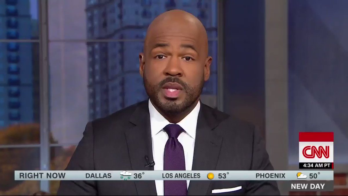 """Watch this: CNN anchor @VictorBlackwell asking viewers to donate to their local food banks. """"We can feed each other while they fight in Washington."""" Details at #ShutdownHunger."""