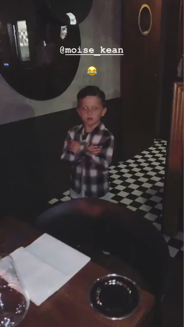 Pjanic's son doing Kean's celebration is the best thing you'll see all day 😍