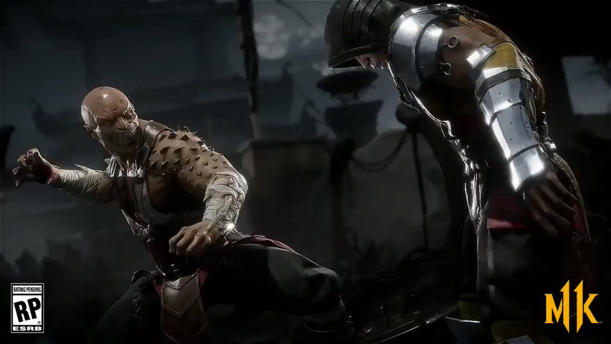 This tweet is a friendly reminder that Baraka's fatality is absolutely disgusting. #MK11