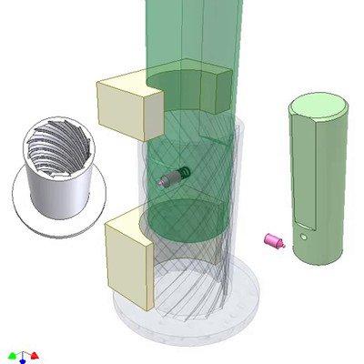 Space Ratchet Mechanism