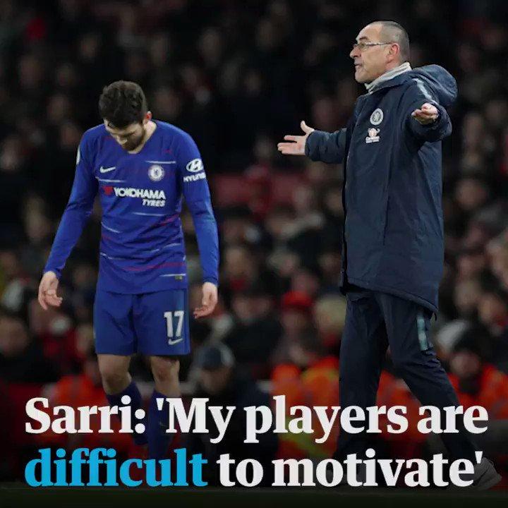Guardian sport's photo on Sarri
