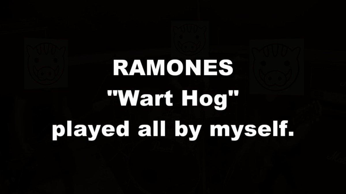 RAMONES「Wart Hog」をバンドスタイルで演奏してみた #演奏してみた#弾いてみた#叩いてみた#RAMONES#punk#punkrock