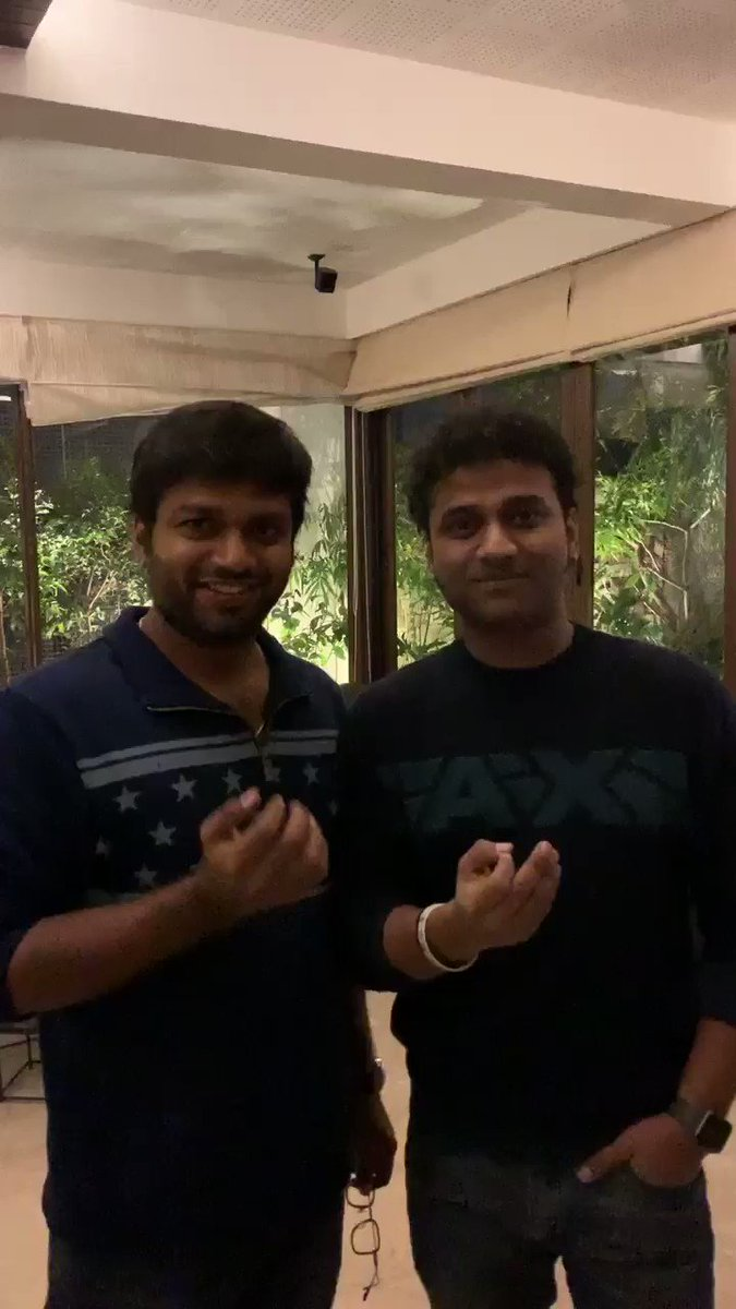2 Honey's in 1 frame! 💞🤩 @AnilRavipudi @ThisIsDSP they're actually doing #AnilisTheBest 💥