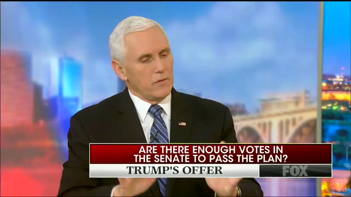Fox News' Chris Wallace Hammers Pence: You Could Open The Government Tomorrow