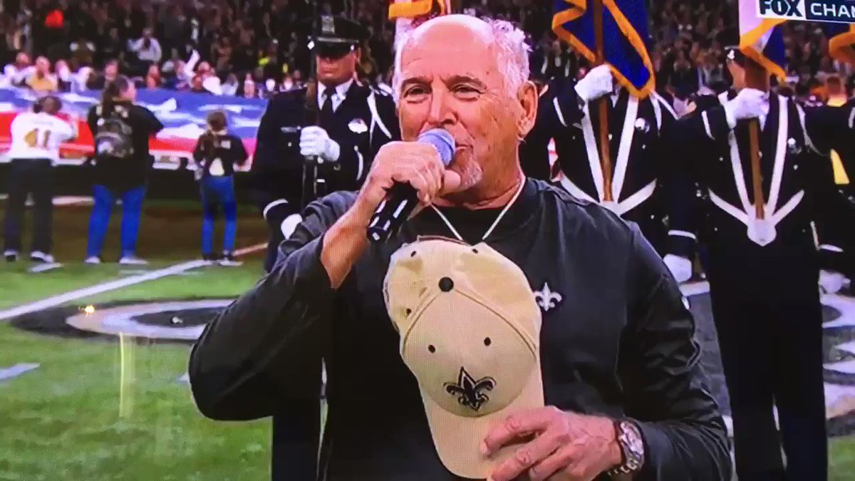 National Anthem Performance Before Saints-Rams Is Getting Crushed
