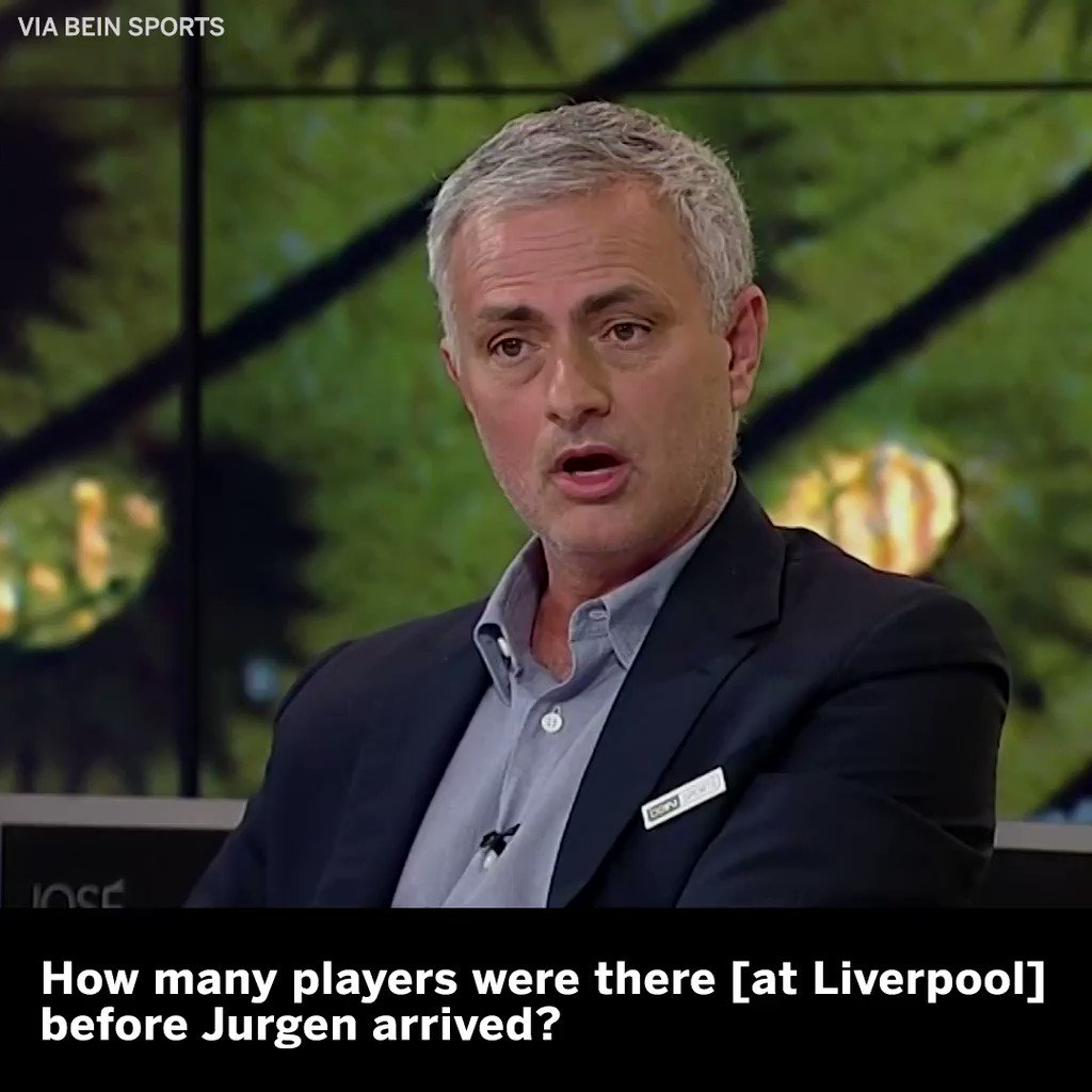 Jose Mourinho explains why Man United fell behind Liverpool and Man City during his time as manager.