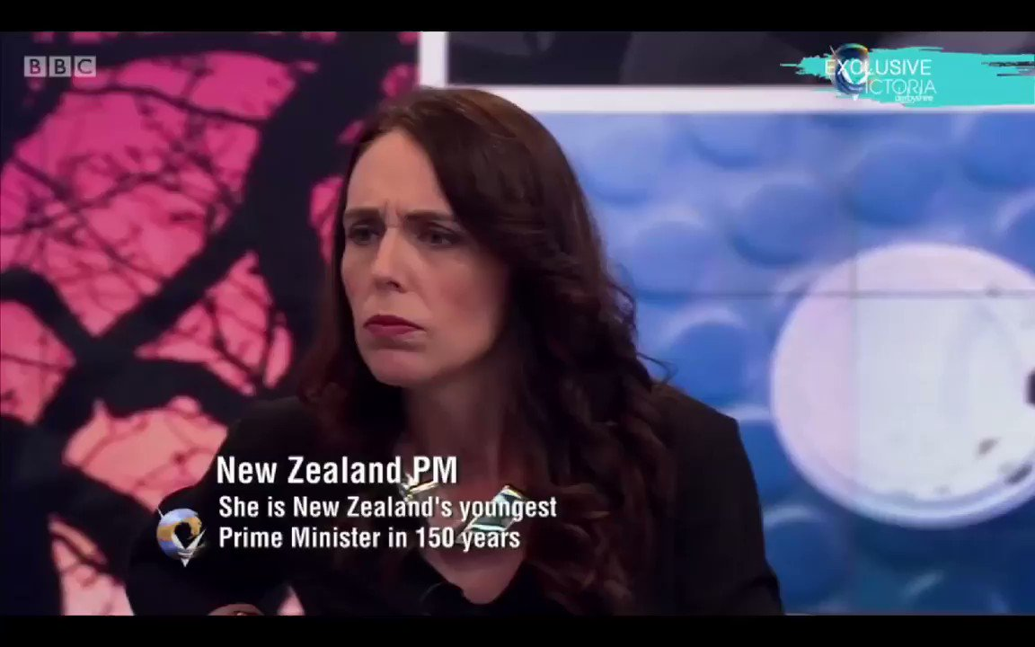 Image for the Tweet beginning: Jacinda Ardern(New Zealand PM) -