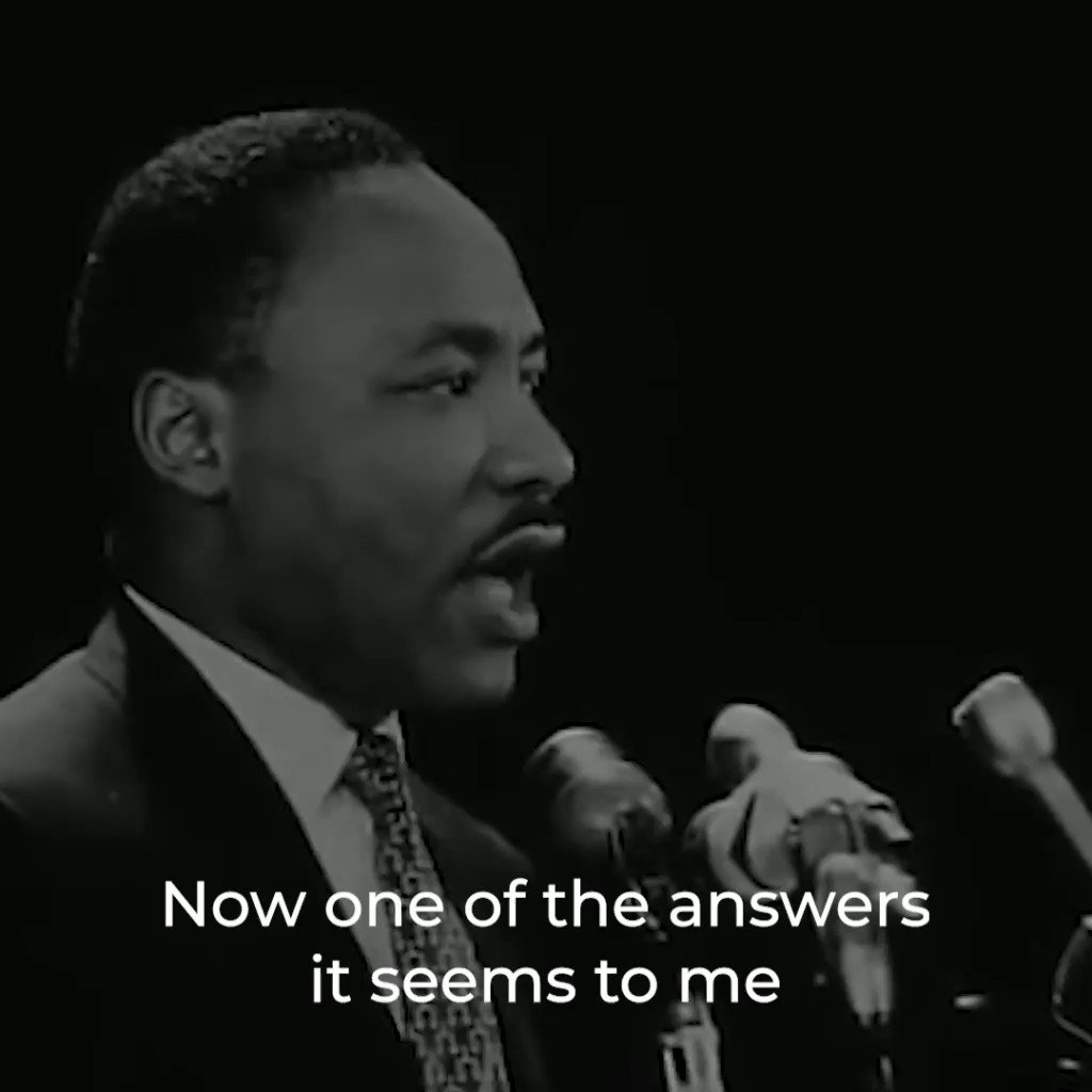 A video of MLK Jr. speaking about Universal Basic Income at Stanford in April, 1967. Let's finish his work.
