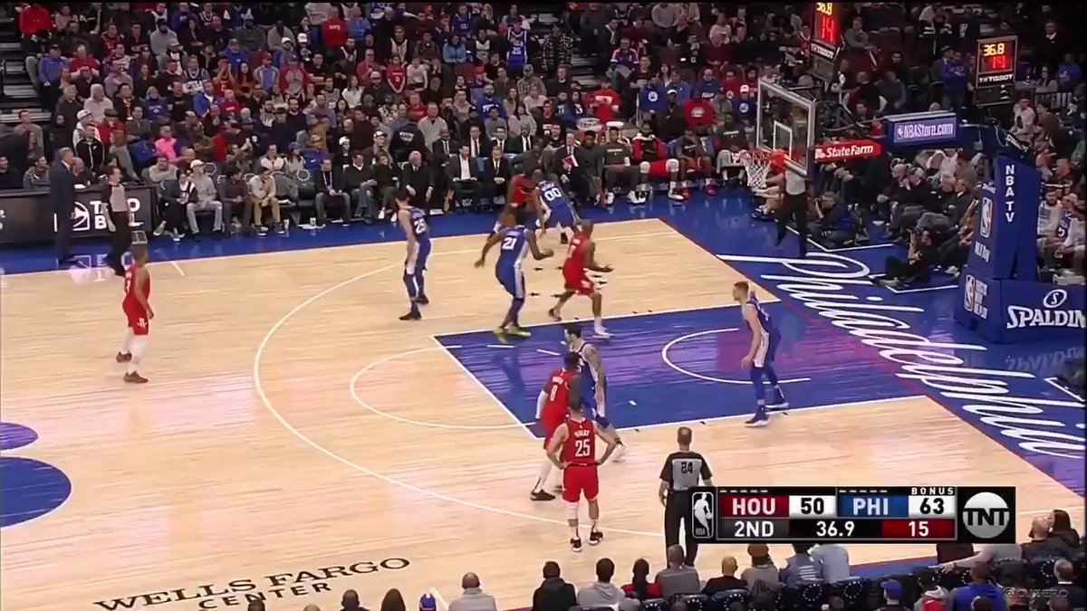 Corey Brewer is inventing new, ridiculous ways to try to guard James Harden