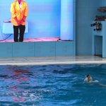 イルカショーでまさかのハプニング!トレーナーさんの神対応に元気が出る!